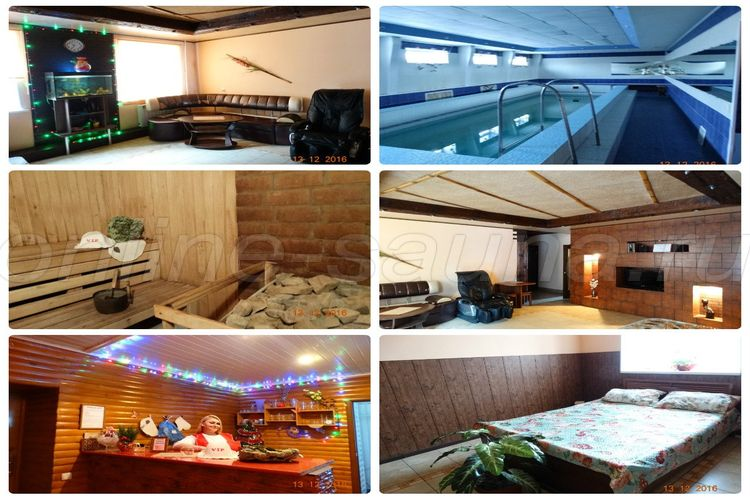 Баня VIP, банный комплекс